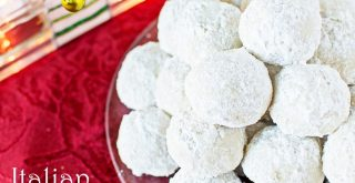 italian wedding christmas cookies; snowball cookies; mexican christmas cookies; italian wedding cookies