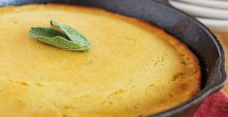 honey sage cornbread
