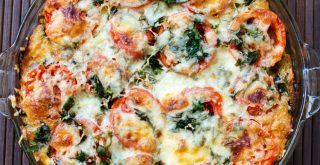 Summer Eggplant Tomato Pie recipe featured by top LA lifestyle blogger, Posh in Progress