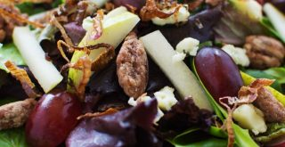 The Most Tantalizing Pear and Gorgonzola Salad